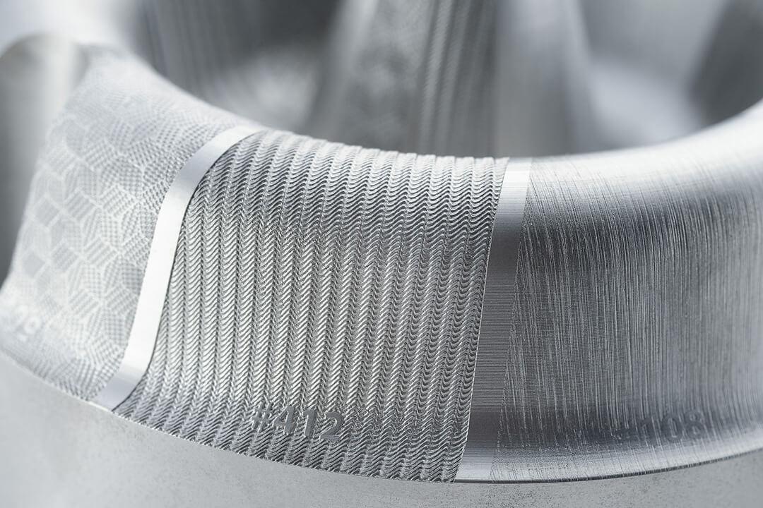 Filigrane Oberflächenstruktur von HAILTEC